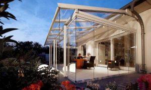 A beépített terasz a háznak egy bővítése