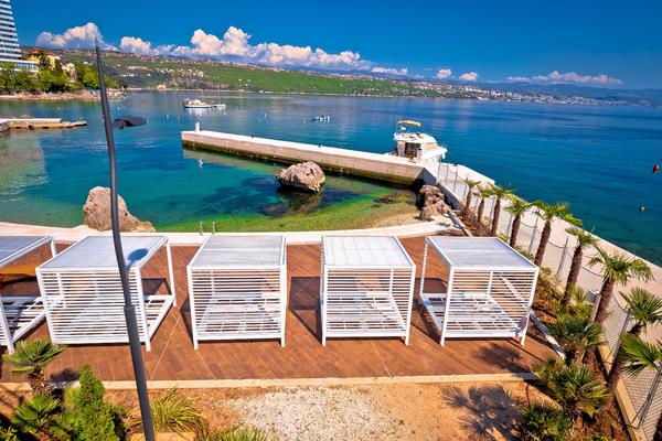 A legjobb városi strandok Horvátországban
